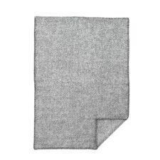 wiegdeken grijs wol klippan