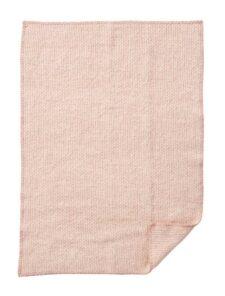 wiegdeken roze wol klippan domino