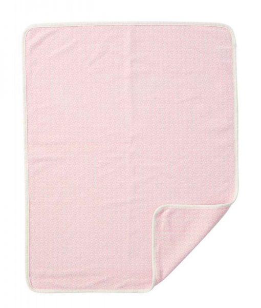 Wiegdeken katoen roze Rumba