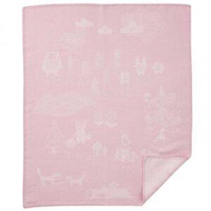 Wiegdeken katoen roze Little Bear
