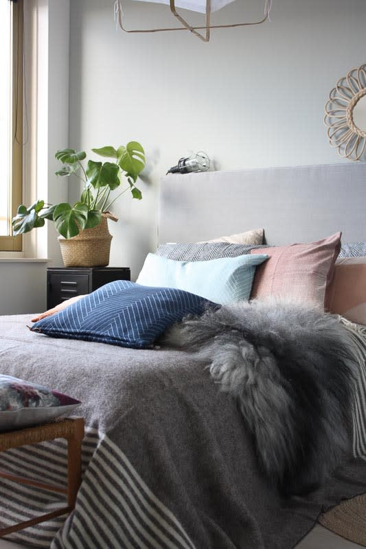 wollen deken slaapkamer Silkeborg