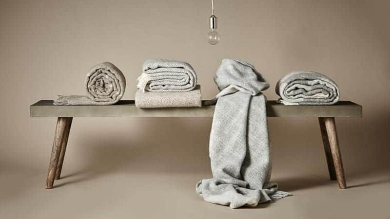 wollen dekens silkeborg uldspinderi