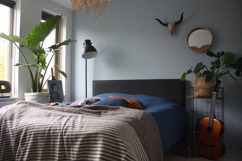 wollen dekens slaapkamer
