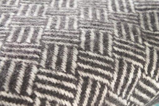 zwarte plaid klippan wol