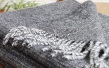 plaid grijs wol shimmer klippan