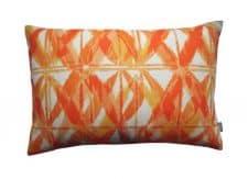 kussen oranje tuinkussen