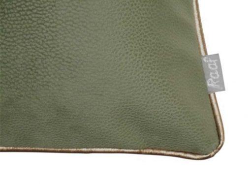 kussenhoes groen raaf soft
