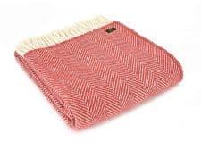 plaid rood wol cranberry tweedmill textiles