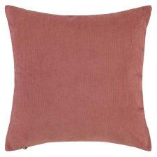 roze kussen corduroy ribfluweel