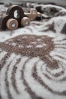 plaid deken wol