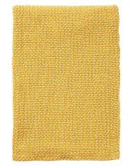 plaid geel klippan geweven basket