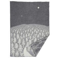 plaid grijs lamswol klippan house forest
