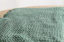 plaid groen katoen klippan basket