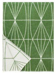 plaid groen lijnen wol