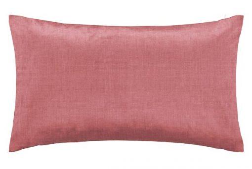 kussen roze langwerpig velvet