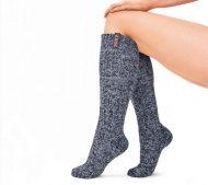 sokken wol huissokken donkergrijs sparkling cupper