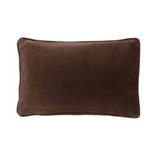 kussen bruin velvet chocolate langwerpig