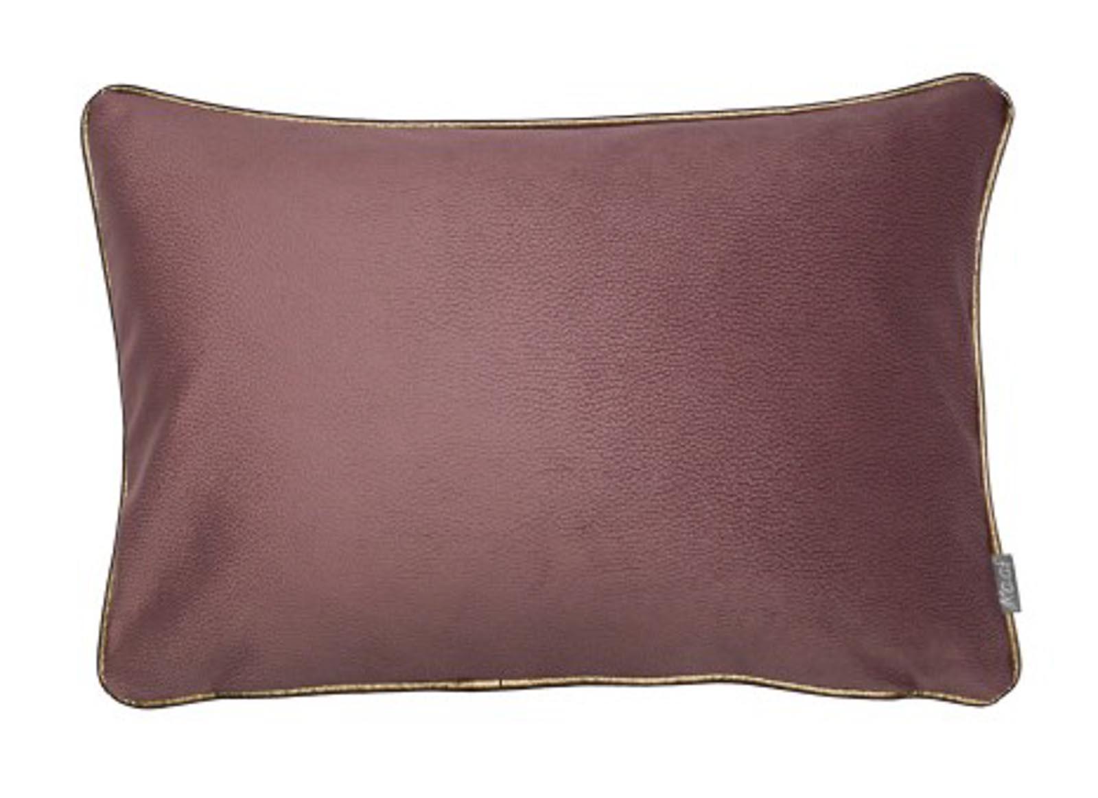 Hedendaags Kussen roze langwerpig | Zachte meubelstof | Piping randje MH-88