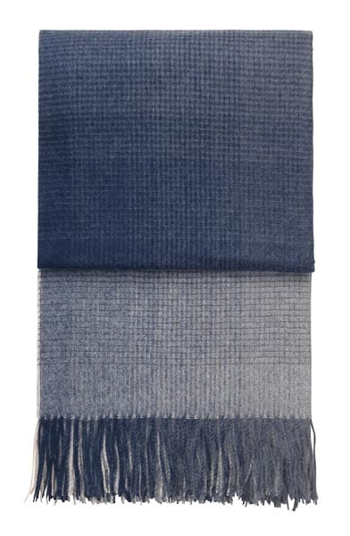plaid blauw donkerblauw alpacawol elvang