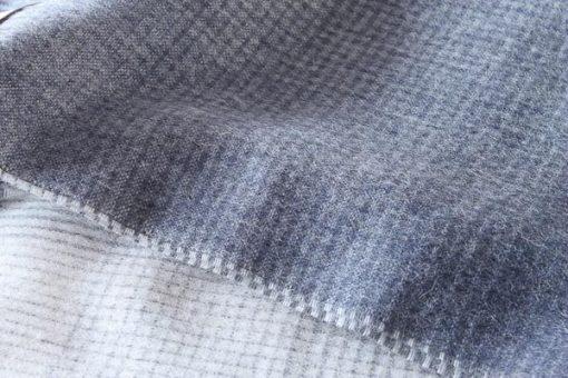 plaid donkerblauw blauw alpaca elvang