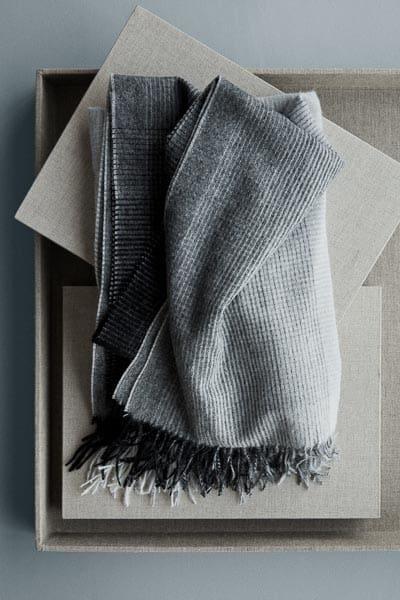 plaid grijs wol alpaca
