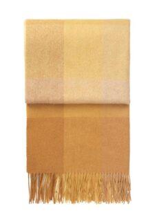 plaid okergeel geel ruiten alpacawol elvang