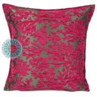 kussen roze koraal meubelstof