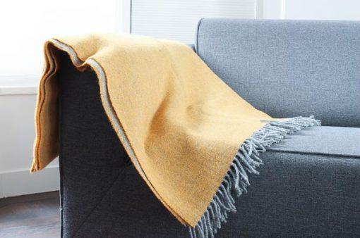 plaid geel mcnutt grijs wol