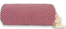 plaid grand foulard donkerrood katoen ottoman