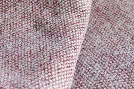 plsid bordeauxrood bruin wol