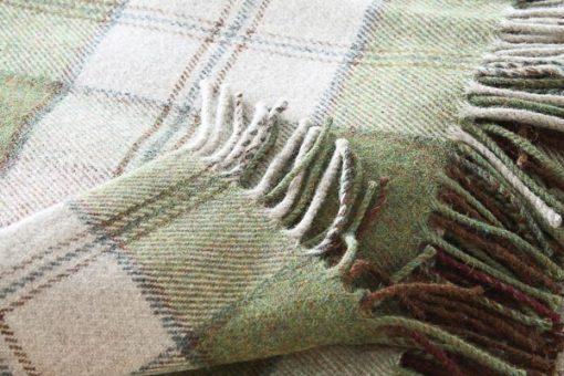 ruiten plaid groen beige ierland mcnutt