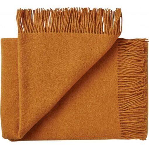 plaid oranje wol silkeborg