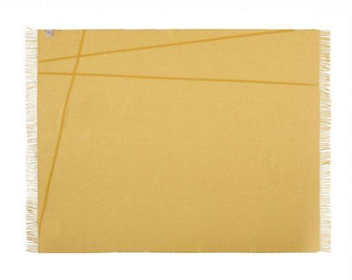 plaid geel wol merino