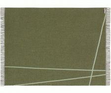 plaid groen wol merino