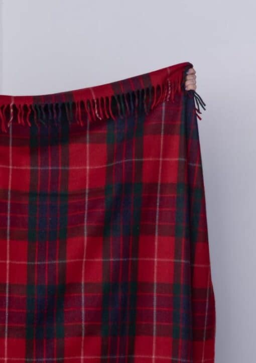 plaid rood ruiten wol