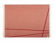 plaid rood wol merino