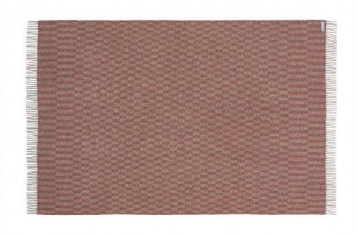 grijs rood roze plaid wol