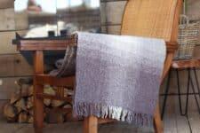 plaid bruin wol klippan