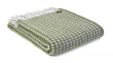 plaid groen olijfgroen wol