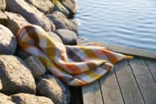 plaid ruiten geel grijs oranje klippan
