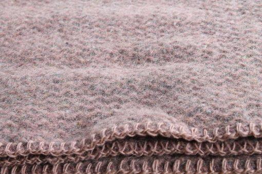 wiegdeken roze wol recycled