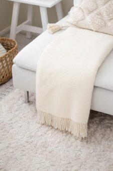 witte plaid wol silkeborg