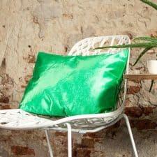 kussen groen fluor langwerpig lux