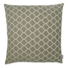 kussen groen vierkant patroon