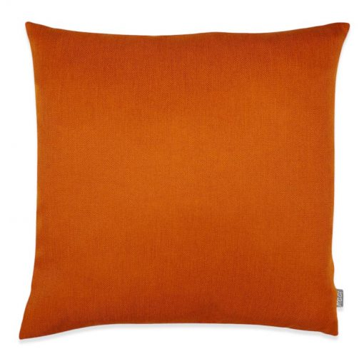kussen oranje vierkant heidi