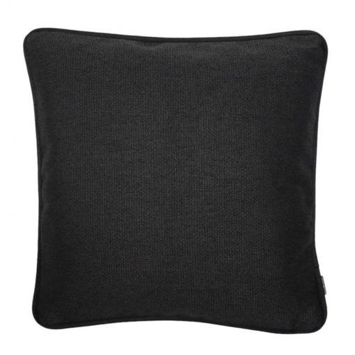 kussen zwart meubelstof vierkant