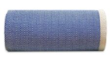 plaid grand foulard blauw katoen