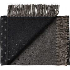 plaid grijs zwart alpaca wol