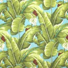 sierkussen groen bladeren