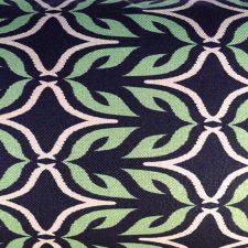 sierkussen groen bladeren raaf
